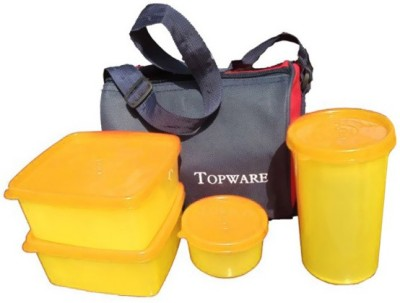 Topware Topware Plan Yellow 4 Containers Lunch Box