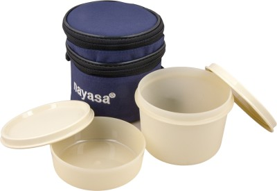 Nayasa Ny-lb-01bl small 2 Containers Lunch Box