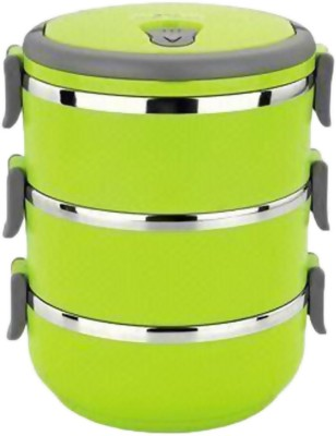 Anything&Everything Layer Multiple Lock 3 Containers Lunch Box