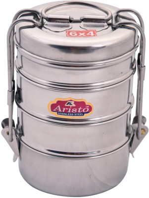 Aristo Tiffin 6X4 4 Containers Lunch Box(370 ml)
