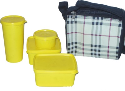 varun enterprises 01 4 Containers Lunch Box(1000 ml) at flipkart