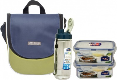 Lock&Lock Sling 2 Containers Lunch Box