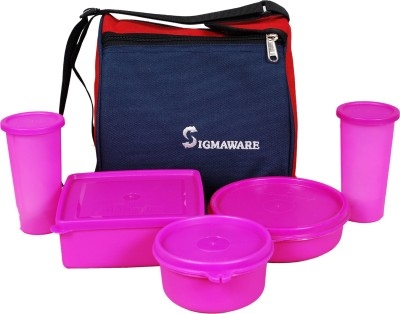 Sigmaware Best Buy 5 Containers Lunch Box