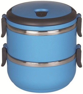 Blessed Layer Multiple Lock-Blue 2 Containers Lunch Box