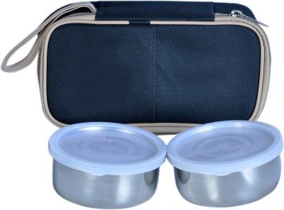 Homekitchen99 Hot Pot With Cover 2 Containers Lunch Box