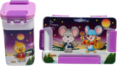 Scrazy Happy Mouse Tiffin Set For Kids 1 Containers Lunch Box