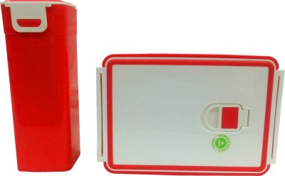 HOMIO OM-RED 1 Containers Lunch Box