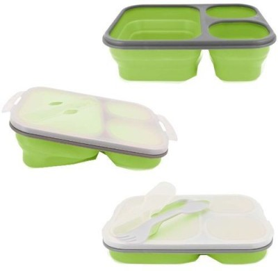 Aquapolo Silicon-BPA FREE 1 Containers Lunch Box