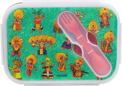 Chumbak Dances Of India Lunch Box 1 Containers Lunch Box