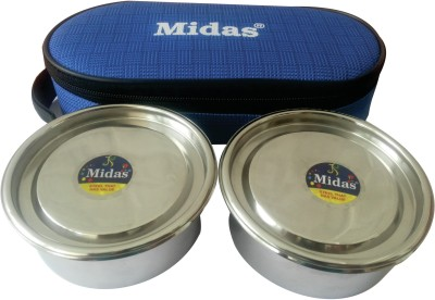 Midas 1921mlbb 2 Containers Lunch Box