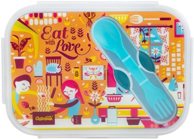Chumbak 8904218059565 2 Containers Lunch Box