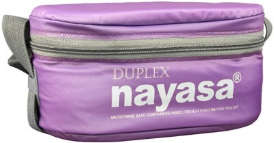 Nayasa Duplex -DARSH0 3 Containers Lunch Box(600 ml)