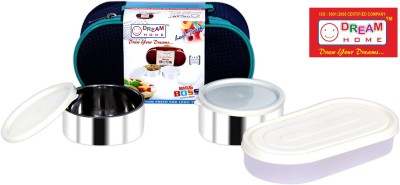 Dream Home Big Boss Lunch Box (Blue) 3 Containers Lunch Box
