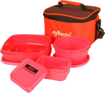 myBento 1B01C043 3 Containers Lunch Box