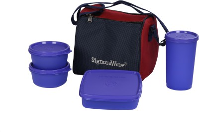 Signoraware 513 Best 4 Containers Lunch Box(1050 ml)