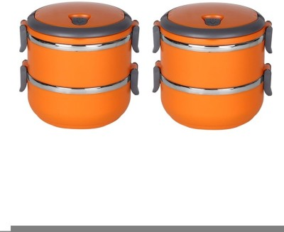 Grind Sapphire orange 2 Containers Lunch Box