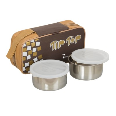 ZANELUX LB-004 2 Containers Lunch Box