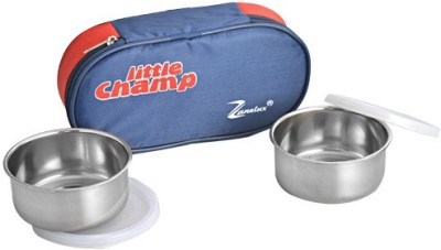 Zanelux LB-002 2 Containers Lunch Box