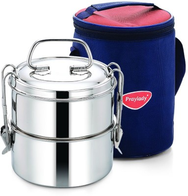 Praylady Hot Cold 2 Containers Lunch Box