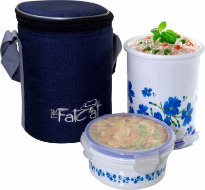 The Fat Cat lb 006 2 Containers Lunch Box