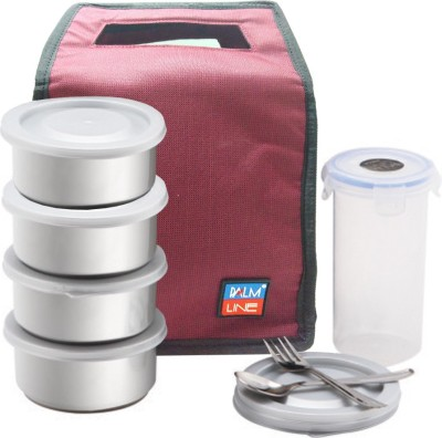 Palmline KhaoPiyo-4 Soft Line Series 4 Containers Lunch Box