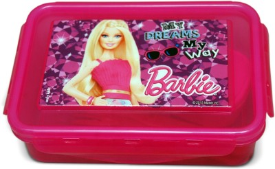 Barbie Airthight Lunch box Barbie Dreams 1 Containers Lunch Box