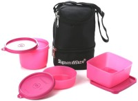 Signoraware 525 Trio With Bag 3 Containers Lunch Box(1310 ml)