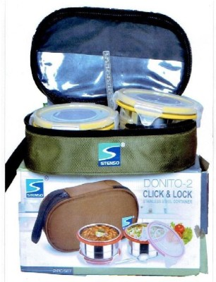 Stenso Donito-2 2 Containers Lunch Box