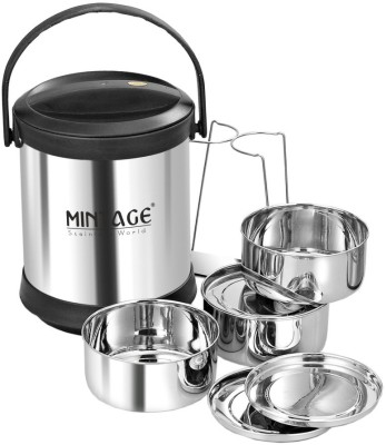 Mintage Deluxe 3 Containers Lunch Box