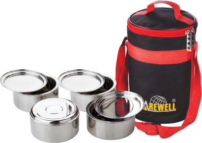 Carewell Hot Insulated 4 Containers Lunch Box