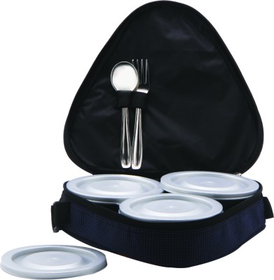 Palmline Triangle 3 3 Containers Lunch Box
