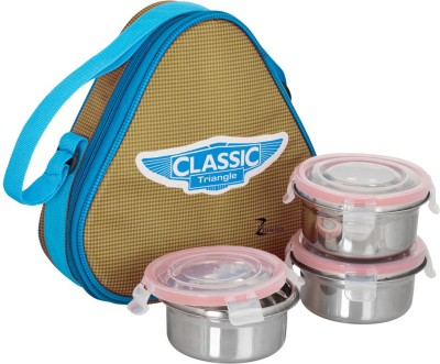 zanelux LB-029 3 Containers Lunch Box