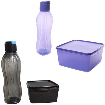 Tupperware You & I Set 2 Containers Lunch Box