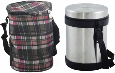 VSE Jvl Tiffin 3 Containers Lunch Box