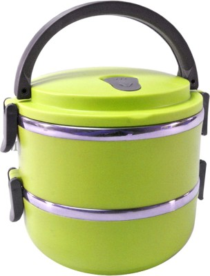 SJ Thermos Insulated Hot 2 Containers Lunch Box(750 ml) at flipkart
