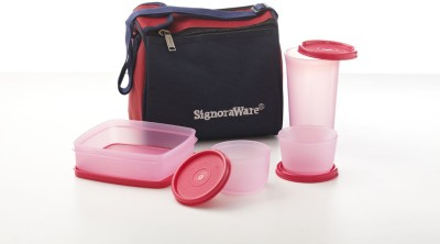 Signoraware Best Lunch Box with Bag 4 Containers Lunch Box