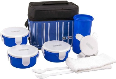 NAYASA DE54 4 Containers Lunch Box(600 ml)