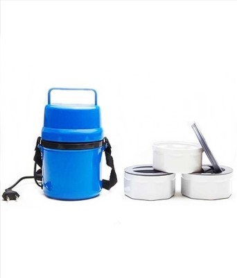 Aptron PPH-06-BL 3 Containers Lunch Box