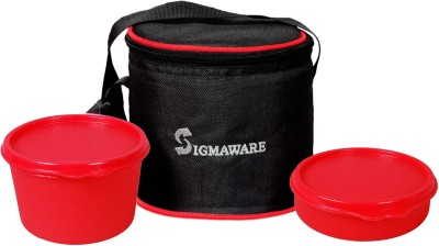 Sigmaware Executive-Office Small 2 Containers Lunch Box