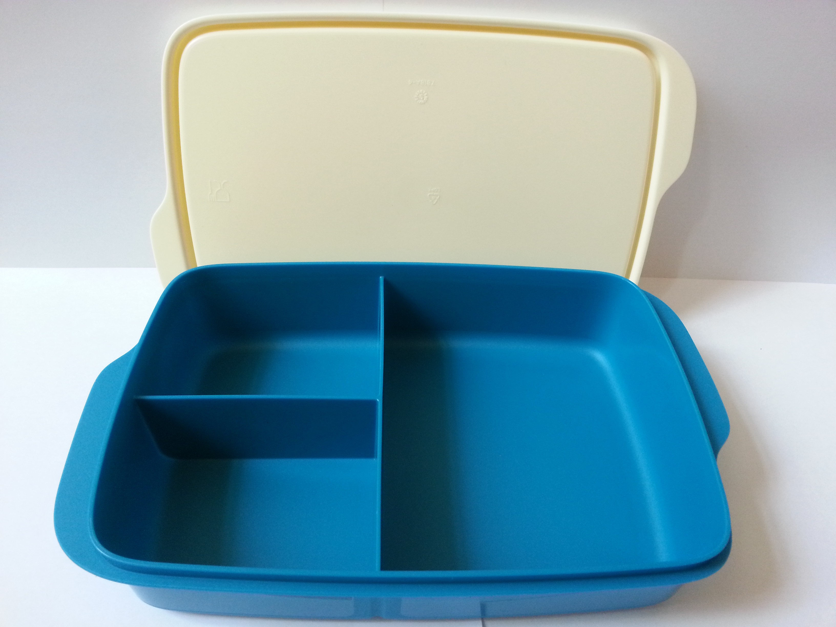 Tupperware Fun Meal Divided 1 Containers Lunch Box - Tupperware ...