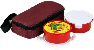 Divsam Chief Leakproof Tiffin Pack & 2 Containers Lunch Box