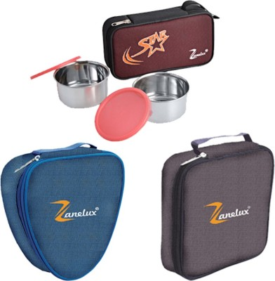 ZANELUX S-Z3-Z4 9 Containers Lunch Box