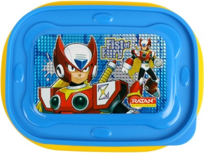 Ratan Plastics RATAN-18053Y 2 Containers Lunch Box