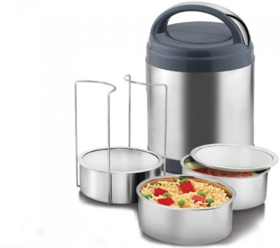 Power Plus Meal Deal insulated stainless steel containers lunch box 3 Containers Lunch Box