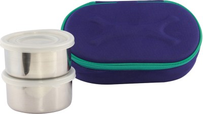 Gcollection GCLDBlue2 2 Containers Lunch Box