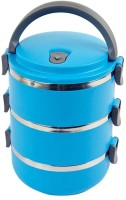Cool Trends Easy Lock Stainless Steel Triple Layer 3 Containers Lunch Box