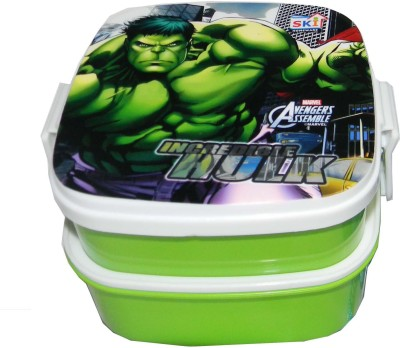 SKI LunchBox 4 2 Containers Lunch Box