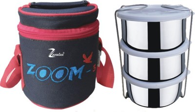 Zanelux LB-014 3 Containers Lunch Box