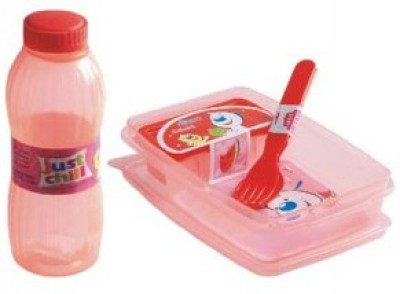 Finnexe Happy Time 2 Containers Lunch Box