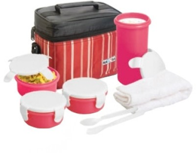 Nayasa 8906035902123 3 Containers Lunch Box